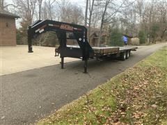 2019 Maxxd 32' T/A Flatbed Trailer