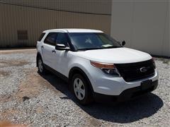 2013 Ford Explorer Police Interceptor AWD SUV