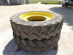 480/80R50 Goodyear Rear Tractor Tires & Wheels