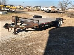 2005 H & H Trailer Co T/A Tilt Flatbed Trailer