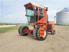 New Idea 708 UNI Power Unit W/Bryon Seed Corn Harvester & New Idea 767 Super Chopper Processor