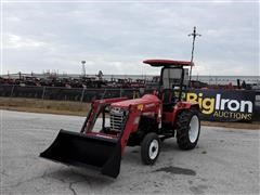 2018 Mahindra 4550 2WD Compact Utility Tractor W/Loader