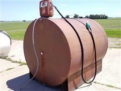 Kay 1000-Gal Fuel Barrel