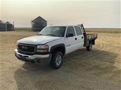 2004 GMC 2500HD 4X4 Crew Cab Pickup