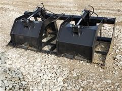 Brute Brush Grapple Skid Steer Attachment