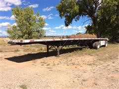 1999 Utility T/A Flatbed Trailer