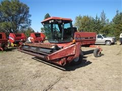 1992 Case IH 8840 Self Propelled Mower Conditioner W/16' Header