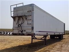 1996 Wilkens OK2LA52PCOSD 53' T/A Walking Floor Trailer