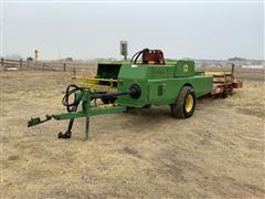 John Deere 466 Small Square Baler W/Farmhand Accumulator