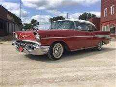 1957 Chevrolet Bel Air 2 Door Hard Top Car