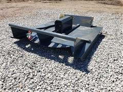 2020 Mower King SSRC72 6' Wide Rotary Cutter Skid Steer Attachment