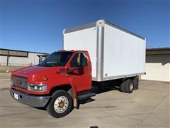 2005 GMC C5500 Enclosed Box Truck
