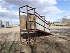 J Bar H 16' Livestock Loading Chute