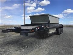1985 Constructor Tri/A Belly Dump Trailer