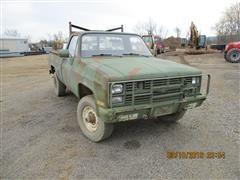 1985 Chevrolet 4X4 pickup