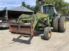 John Deere 4630 2WD Tractor With Loader