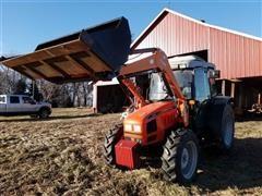 AGCO GT75 MFWD Tractor W/FL200 Loader