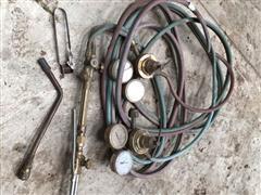 Radnor Aceytlene Torch Gauge Set