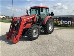 2015 Mahindra MForce 105S MFWD Tractor W/Loader