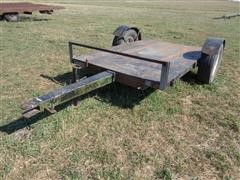 Shop Built Flat Bed Utility Trailer