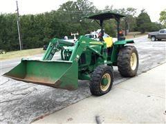 2007 John Deere 5303 MFWD Tractor w/ 522 Loader