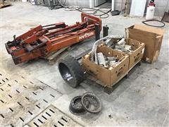 Nissan 50 Forklift Mask & Misc Parts