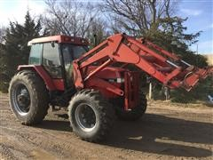 1990 Case IH 5130 MFWDTractor W/ Loader