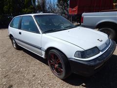 1991 Honda Civic Car