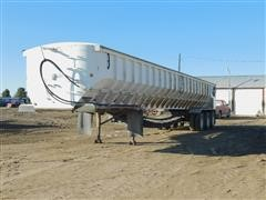 1999 Red River 48' Live Bottom Tri/A Trailer