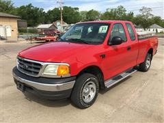 2004 Ford F150XL 4x4 Extended Cab Pickup