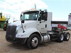 2007 International 8600 SBA Day Cab T/A Truck Tractor W/Wet Kit