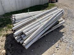 "3"" X 7' Plastic Fence Posts"