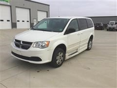 2011 Dodge Caravan Handicap Accessible Van