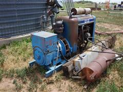 Ford 480 VAC, 42.5 KW Natural Gas Generator