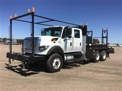 2013 International Workstar 7500 T/A Crew Cab Utility Truck
