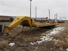 1974 Trail-Eze 2341-2000 Tri/A Machinery Trailer