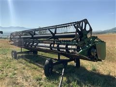 John Deere 925 Grain Header & Trailer