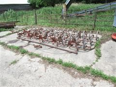 5 Section Spring Tooth Drag Harrow