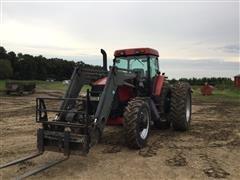 1995 Case IH MX170 MFWD Tractor W/Loader