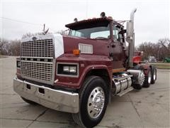 1988 Ford LTL9000 Tri/A Day Cab Truck Tractor W/Wet Kit