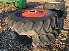 Armstrong 18.4x38 Tires On Rims