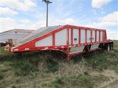 1980 Beall Bbds 24.2 Bottom Dump Trailer