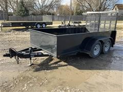2019 Nation T/A Utility Trailer
