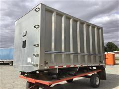 East AB836 16' Aluminum Truck Body W/Hoist