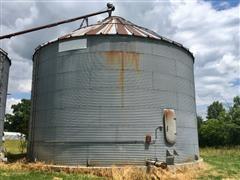 NP 33' Diameter Grain Bin W/Aeration Floor