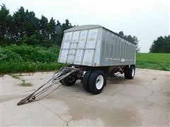 1978 Merritt Mark II Series Aluminum Pup Grain Hopper Trailer
