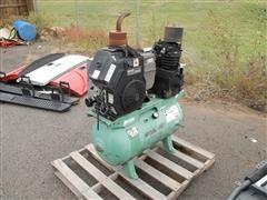2008 Speedaire 5F564A 30 Gallon Gas Powered Air Compressor