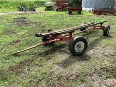 Homemade 18' Header Trailer