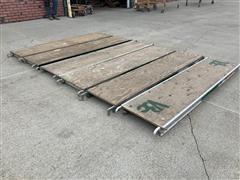 "Metal Tech 7' X 19"" Platform Scaffold Planks"
