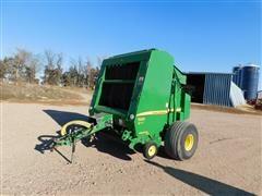 2012 John Deere 568 Mega Wide Plus Round Baler